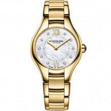 Raymond Weil Noemia Ladies Yellow Stainless Steel and Diamond Watch - 5124-P-00985