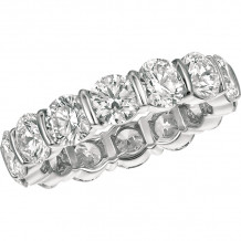 Gemlok Platinum Les Classiques Diamond Eternity Wedding Band - 6.200