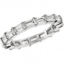 Gemlok Platinum Les Classiques Diamond Eternity Wedding Band - 6.992