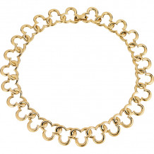 Gemlok 18k Yellow Gold Necklace - 66.046
