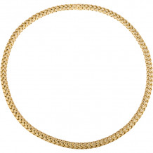 Gemlok 18k Yellow Gold La Vannerie Necklace - 66.453