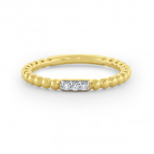 KC Designs 14k Yellow Gold Stack And Style Diamond Stackable Ring - R6489