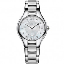 Raymond Weil Noemia Ladies Stainless Steel and Diamond Watch - 5132-ST-00985