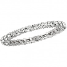 Gemlok Platinum Les Classiques Diamond Eternity Wedding Band - 6.000