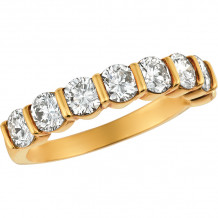 Gemlok 18k Yellow Gold Les Classiques Diamond Ring - 5.509