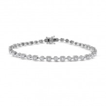 KC Designs 14k White Gold Diamond Bracelet - B4095