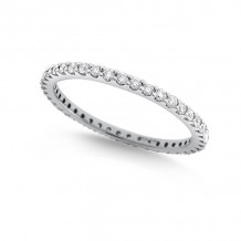 KC Designs 14k White Gold Eternity Diamond Ring - R11504