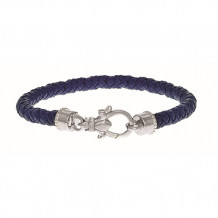 Philip Gavriel Sterling Silver and Lavender Nappa Leather Bracelet - pgcf3260-0725