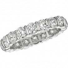 Gemlok Platinum Les Classiques Diamond Eternity Wedding Band - 6.150