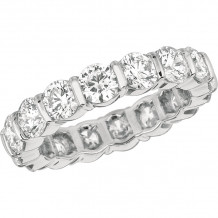 Gemlok Platinum Les Classiques Diamond Eternity Wedding Band - 6.190