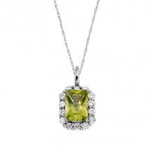 David Connolly 14k White Gold Diamond Necklace - 3059PEW