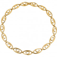 Gemlok 18k Yellow Gold Necklace - 66.047