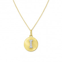 KC Designs 14k Yellow Gold Initialss Initials Necklace - N11400-I