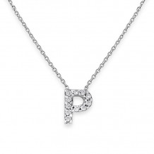 KC Designs 14k Yellow Gold Initialss Initials Necklace - N13095-P