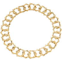 Gemlok 18k Yellow Gold Necklace - 66.048