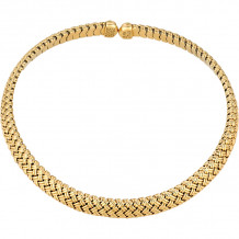 Gemlok 18k Yellow Gold La Vannerie Necklace - 66.039