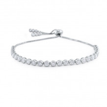 KC Designs 14k White Gold Diamond Bracelet - B8865